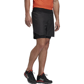 adidas TERREX Agravic Short 2 en 1 Homme, black